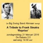 Reprise Frank Sinatra - 21-2-2016 - De Rekere 2.0